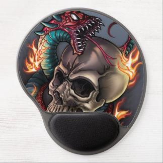 Skull + Snake Gel Mousepads