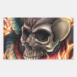 Skull + Snake Sticker