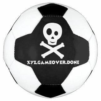 Skull soccer ball