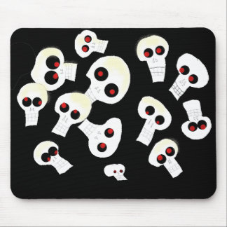skull soup mouse pad
