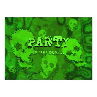 Skull Spectres 'Party...if you dare' ' invitation