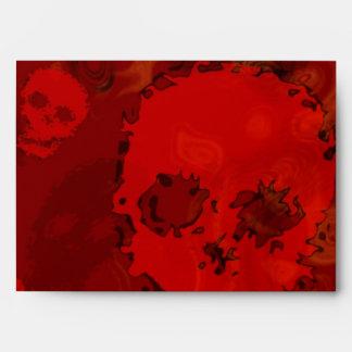 Skull Spectres Red envelope