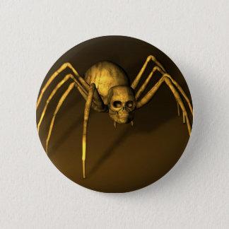Skull Spider Button