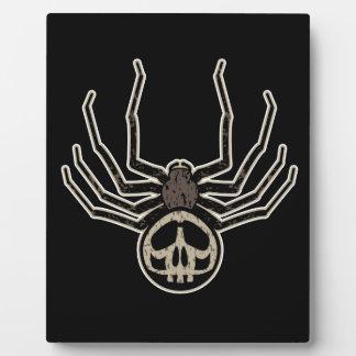 Skull Spider Display Plaques