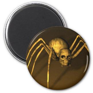 Skull Spider Magnet