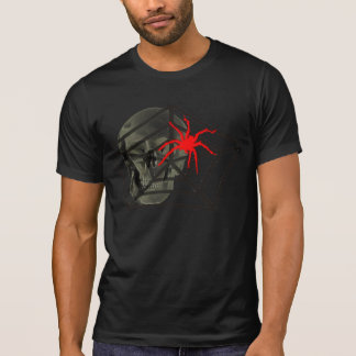 skull spider spooky halloween t shirt design scary - Scary Halloween Shirts