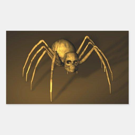 Skull Spider Stickers