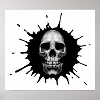skull spot poster