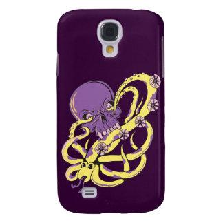 skull squid ack vector cartoon art samsung galaxy s4 cases