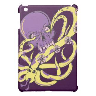 skull squid ack vector cartoon art iPad mini covers