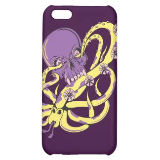 skull squid ack vector cartoon art iPhone 5C cover