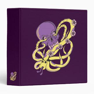 skull squid attack vector cartoon art binders