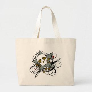 Skull Star Tattoo Inspired Bag