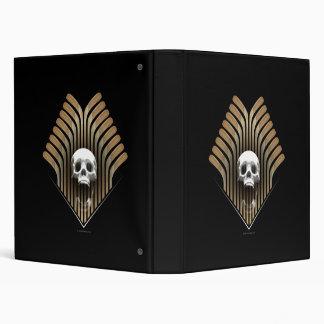 Skull & Sticks Avery Binder