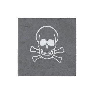 Skull Stone Magnet