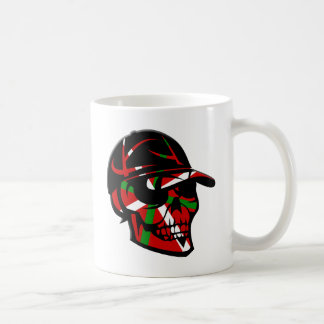 Skull surfer Basque Coffee Mug