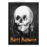 Skull Surprise 1: Halloween Card Greeting Card