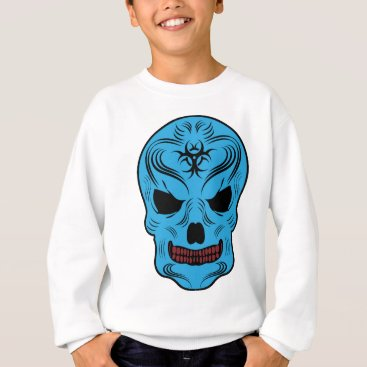 Halloween Themed Skull Sweatshirt
