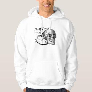 Skull & Swirls Hooded Sweatshirt