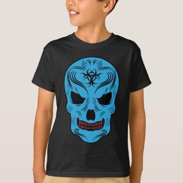 Halloween Themed Skull T-Shirt