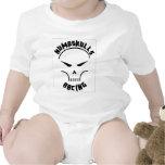 Skull_T-Shirt_1_ Traje De Bebé