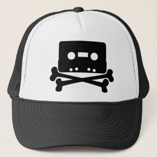 Skull Tape Trucker Hat