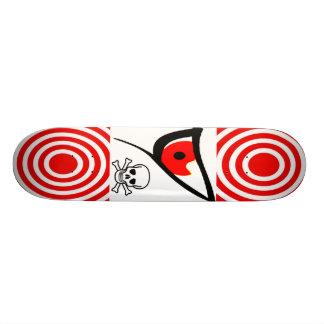 Skull Target Range Evil Eye Skateboard