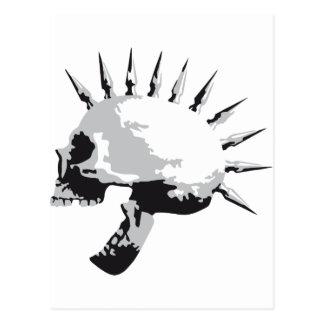 skull tarjetas postales