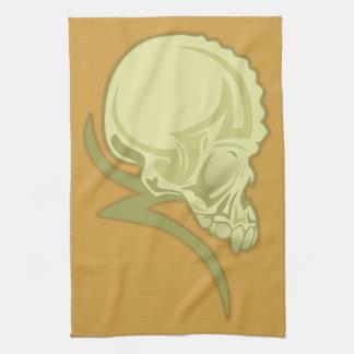 Skull Tattoo Kitchen Towel