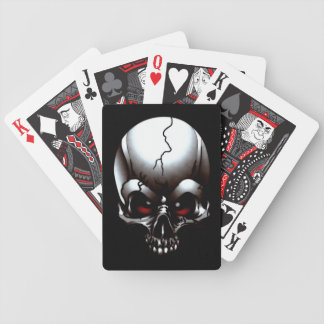 Skull Tattoo Playing Cards
