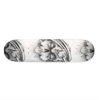 Skull Tattoo Sketch Skateboard Decks