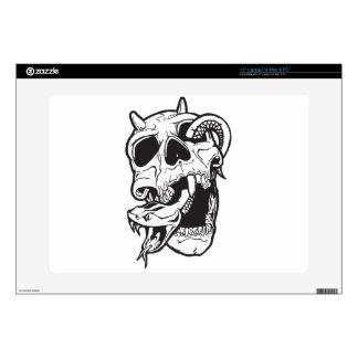 "Skull Tattoo 15"" Laptop Skin"