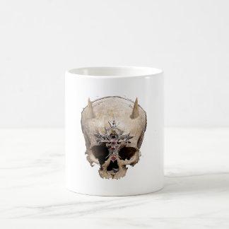 skull taza clásica