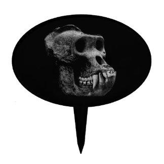 Skull the gorillas. cake topper