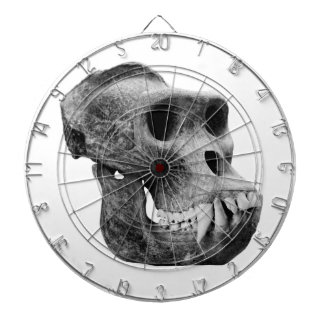 Skull the gorillas. dart board