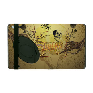 Skull the word iPad cover