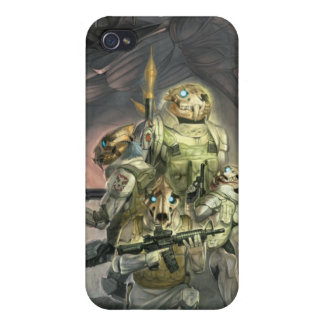 Skull tigers for iPhone4 iPhone 4 Cases