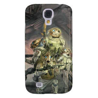 Skull tigers for iPhone 3 Galaxy S4 Cases