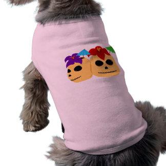 Skull Tiki Mugs T-Shirt