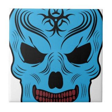 Halloween Themed Skull Tile