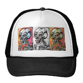 Skull Tiny Earth Trucker Hat