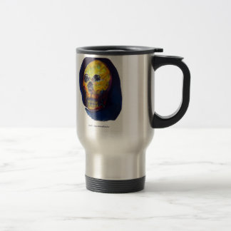 Skull TRAVEL MUG STEEL