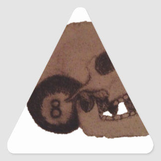 skull triangle sticker