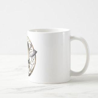 skull tribal axe B Coffee Mug