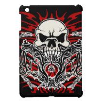 Skull tribal case for the iPad mini