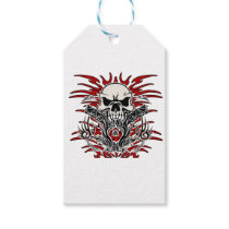 Skull tribal gift tags