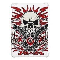 Skull tribal iPad mini cover
