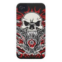 Skull tribal iPhone 4 cover