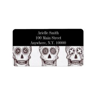 Skull Trilogy ~  Avery Address Label