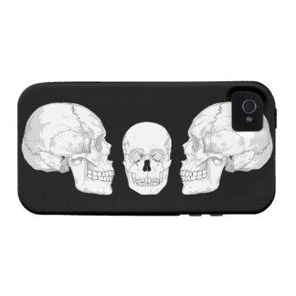 Skull Trio iPhone 4 Case